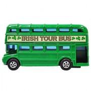 Green Ireland Double Decker Bus Souvenir 3.5