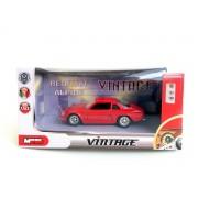 Renault Alpine Rouge Miniature Vintage 1/43 Die Cast Métal-Mondo Motors