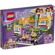 Конструктор Лего Френдс - Блъскащи се колички в увеселителния парк - LEGO Friends, 41133