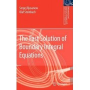 The Fast Solution of Boundary Integral Equations by Sergej Rjasanow