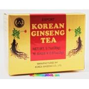 Koreai ginseng instant tea 10 db tasak, frissítő, élékítő hatású