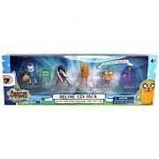 Adventure Time ~2 Mini-Figure Deluxe Pack (6 Figures: Battle Finn Beemo Marceline Finn Jake Lumpy)