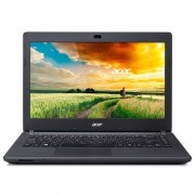 """Acer Aspire ES14 ES1-431-C7LG intel-N3050(2.16GHz) 4GB 32GB SSD DVDRW 14"""" HD lesklý integ.graf. Win10 čierna 2r"""
