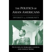 The Politics of Asian Americans by Pei-Te Lien