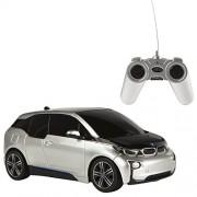 Rastar - BMW I3, coche teledirigido, escala 1:24, color gris (ColorBaby 41154)