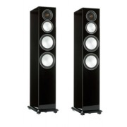 Boxe - Monitor Audio - Silver 8 Walnut Real Wood Veneer