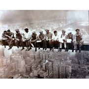 'Lunchtime on a Crossbeam' 500 Piece Puzzle ~ 2006 Top of the Rock by TOP BRAND