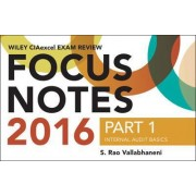 Wiley CIAexcel Exam Review 2016 Focus Notes by S. Rao Vallabhaneni