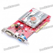 ATI Radeon 9550 256 MB DDR 128 bits Tarjeta de video AGP con VGA + S-Video + DVI