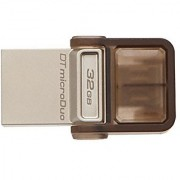 Kingston Digital 32GB Data Traveler MicroDuo USB 2.0 micro USB OTG DTDUO/32GB