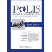 Polis vol.4 nr.4 14 Serie noua Septembrie-noiembrie 2016 Revista de Stiinte Politice