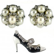 My Pretty Shoe Clips - Pearls Shoe Clips