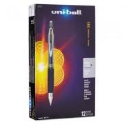 Signo 207 Retractable Gel Pen, Black Ink, 0.5mm, Dozen