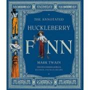 The Annotated Huckleberry Finn by Mark Twain