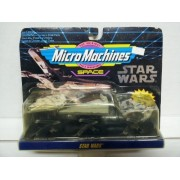 Micro Machines Star Wars Space set - Millennium Falcon , Imperial Star Destroyer , X-wing Starfighter by Galoob