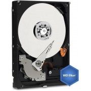 HDD Desktop Western Digital Blue, 2TB, SATA III 600, 64MB Buffer + Cablu conexiune S-ATA III 4World 08530, 452 mm, conector 90 grade