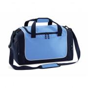 Blauwe sport tas compact