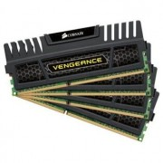 Memorie Corsair 16GB (4x4GB) DDR3, 1600MHz, CL9, radiator Vengeance, Dual Channel, CMZ16GX3M4A1600C9
