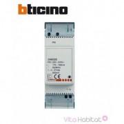 BTICINO Alimentation pour poste ou platine supplémentaire pour système bus 2 fils - BTICINO 346020