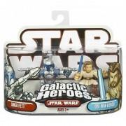 Star Wars Galactic Heroes Jango Fett & Obi-Wan Kenobi Figure Set