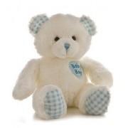 Aurora Plush Baby 14 inches Baby Boy's First Bear by Aurora