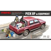 Meng Models 1/35 Dual Cab Toyota Hi-Lux Pickup Truck with M82A1 and M240B Gun... (japan import)