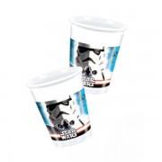 Star Wars műanyag pohár, 8 db/cs