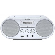 Micro Sitem Sony ZSPS50W, CD/MP3 Player, Radio FM (Alb)