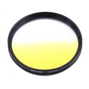 Filtr połówkowy żółty 67mm SELCO
