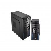 Gabinete AeroCool V2X Blue Edition Ventilador USB 3.0-Negro