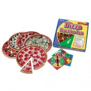 Pizza Fraction Fun Math Game, for Grades 1 and Up, Sold as 1 Each [importato da UK]
