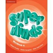Super Minds Level 4 Workbook by Herbert Puchta