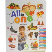 Mehta Graphics All in One Board Book - Pre School Learning Purpose Reading Book for Kids