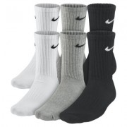Nike Waffle Cushion Crew Socks (6 Pair)
