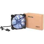 Amztek Ultra Quiet Desktop Case HDD Cooling Fan 120 x 120 mm Blue
