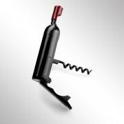 Deschizator sticla in forma de sticla de vin