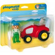 Playmobil 6794 1.2.3 Tractor met boer
