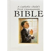Catholic Child's First Communion Gift Bible-NAB-Boy by Victor Fr Hoagland