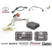 COMMANDE VOLANT Toyota Avensis Verso 2003- - Pour Alpine complet avec interface specifique