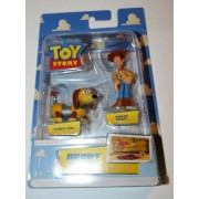 Disney / Pixar Toy Story Mini Figure Buddy Pack Sheriff Woody and Slinky Dog