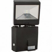 Maxsa Solar-Powered Motion-Activated LED Security Spotlight - 685 Lumens, Black, Model 44311