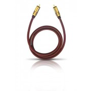 Oehlbach 20531 NF Cable para subwoofer (1 m), color burdeos
