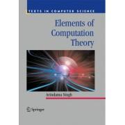 Elements of Computation Theory by Arindama Singh