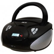 Microsistem audio Akai APRC9236U, CD Player cu MP3, USB, cititor microSD (Negru)