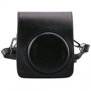 [Fujifilm Instax Mini 70 Case] - CAIUL Comprehensive Protection Instax Mini 70 Camera Case Bag With Soft PU Leather Material ( black )