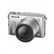 Aparat foto Mirrorless Nikon 1 AW1 14.2 Mpx Silver Kit 11-27.5mm