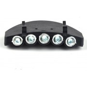 Futaba Clip-On Outdoor Camping LED Headlamp(Black)