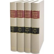 Commentaries on the Laws of England in Four Books, with Notes Selected from the Editions of Archibold, Christian, Cole, Ridge, Chitty, Stewart, Kerr, and Others; And in Addition Notes and References to All Text Books and Decisions Wherein...4 Vols. by Sir