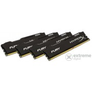 Memorie Kingston 16GB/2666MHz DDR-4 HyperX FURY, negru (Kit 4buc 4GB) (HX426C15FBK4/16)