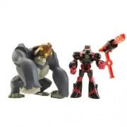 Mattel P7885-0 Batman the Brave and the Bold - Figuras de Batman y gorila
